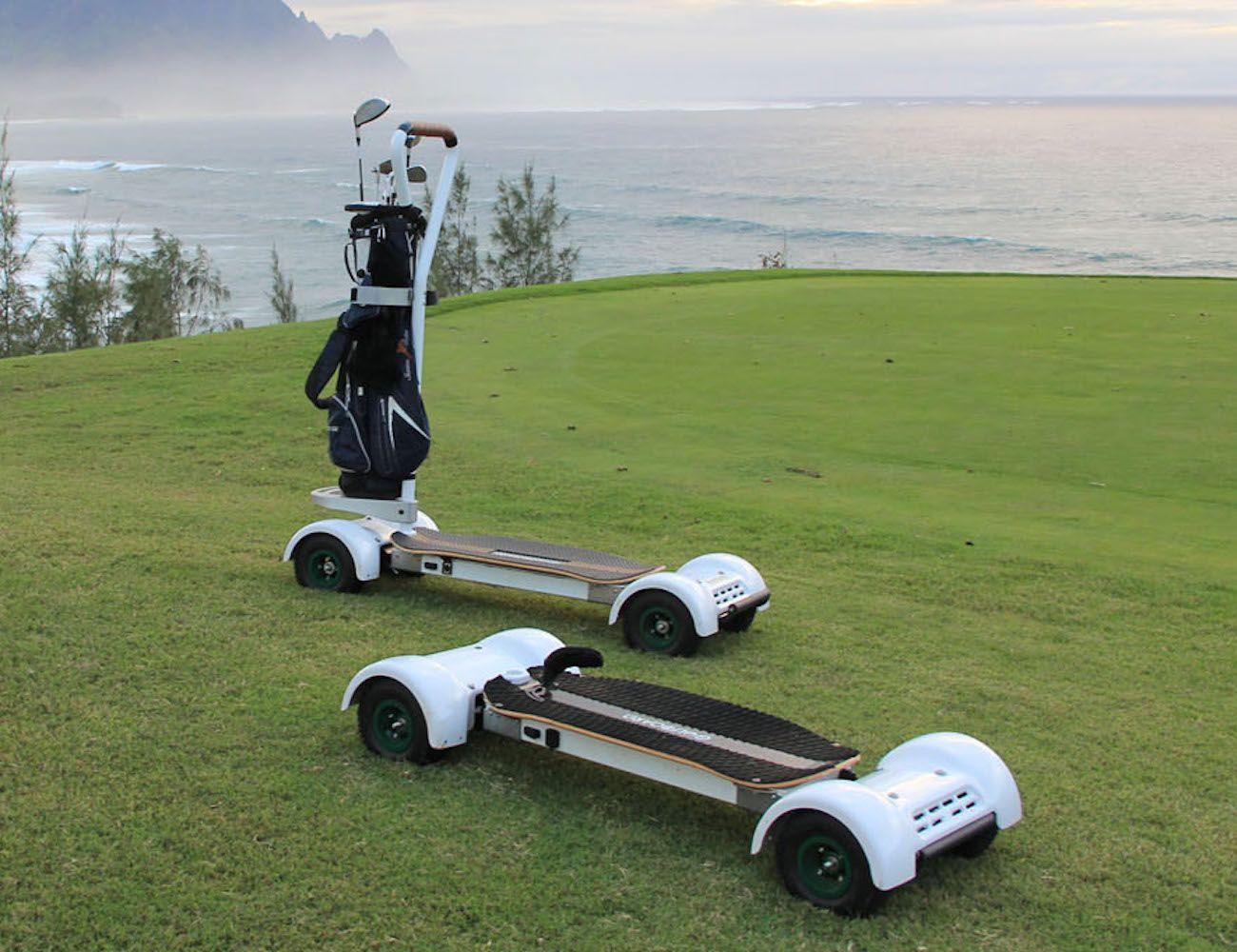 Golfboard Electric Golf Scooter Golf Golf Gadgets Golf Trolley