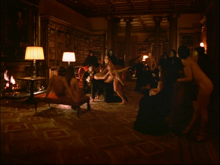 Sex scene in eyes wide shut
