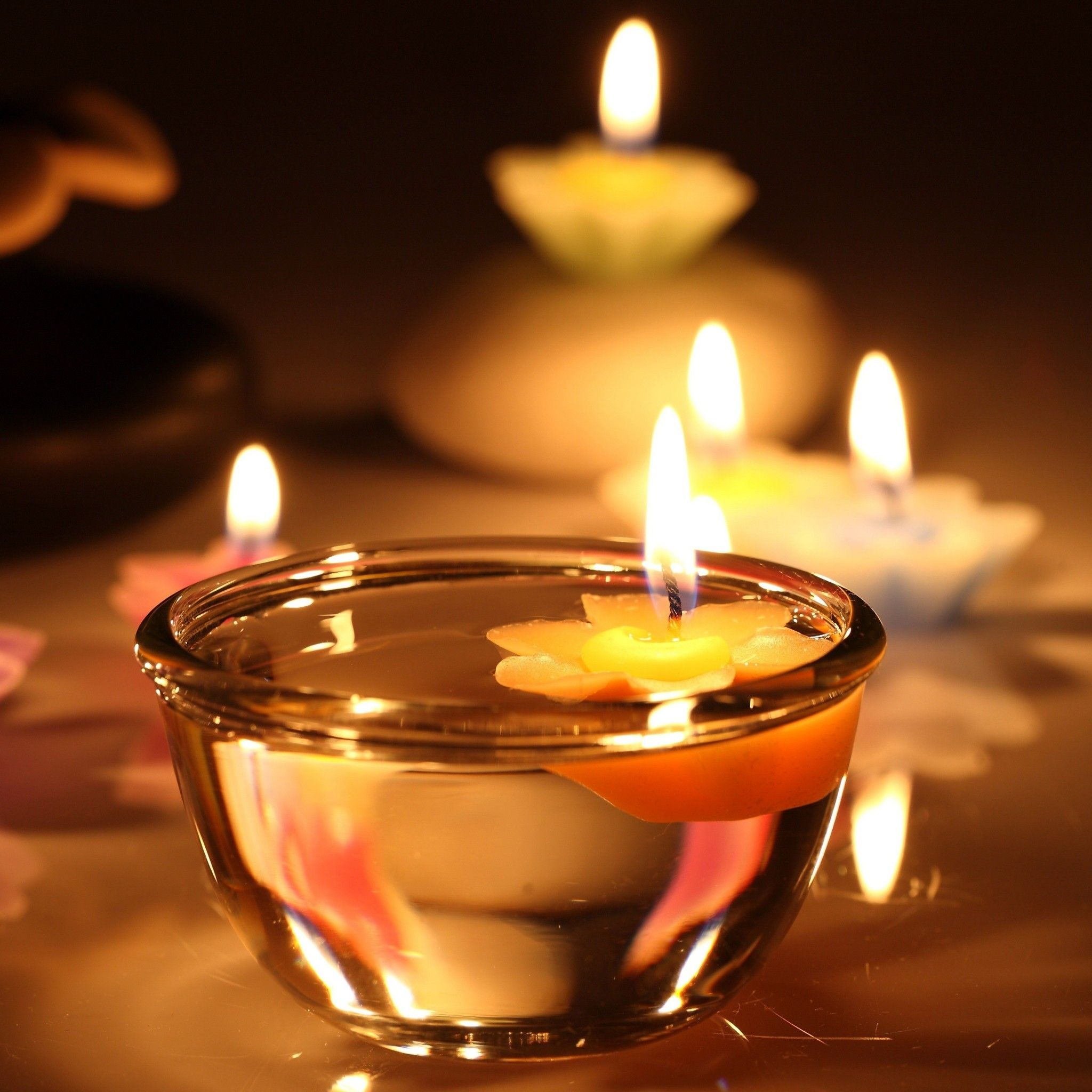 Candle Decoration Tap To See More Light In The Dark Wallpapers Mibile9 Candle Night Beautiful Candles Romantic Candles Night