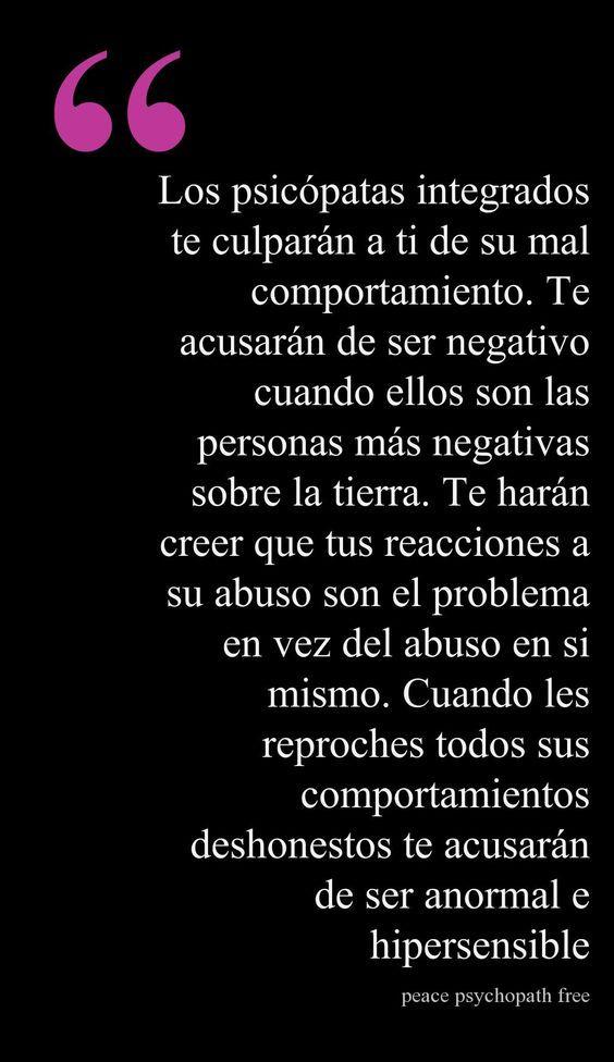 #GenteToxica #Narcisistas #PsicópatasIntegrados https