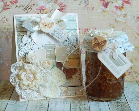 Vanilla Sugar Scrub Gift Set for Mother's Day by Lea Lawson for Prima! www.prima.typepad.com