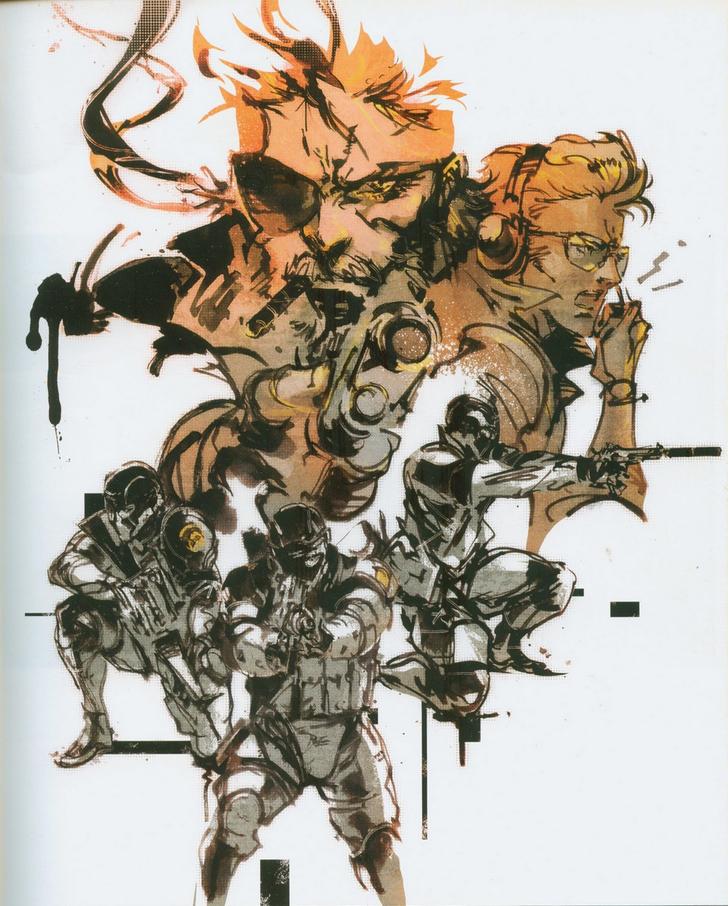 Art Of Metal Gear Solid By Yoji Shinkawa Metal Gear Metal Gear Series Metal Gear Solid