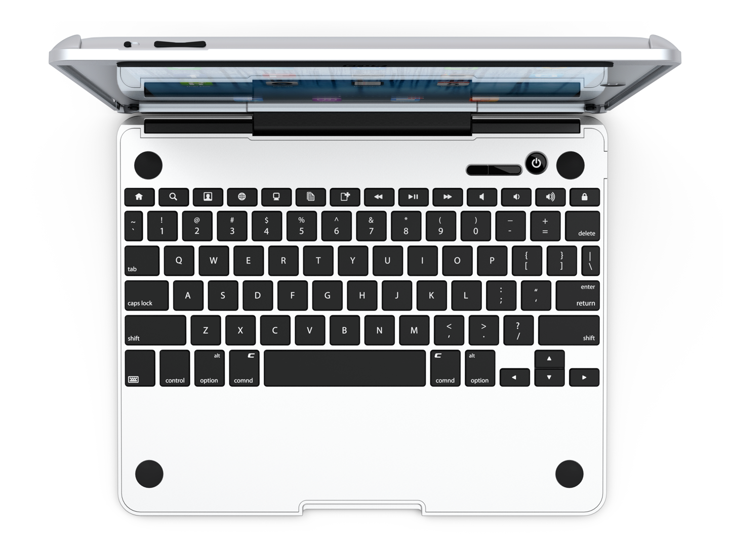 Kitchen sink top view png - Cruxskunk By Cruxcase Is The Thinnest Keyboard Case In The World With A Base That S