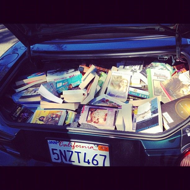 #mytrunk is our local library