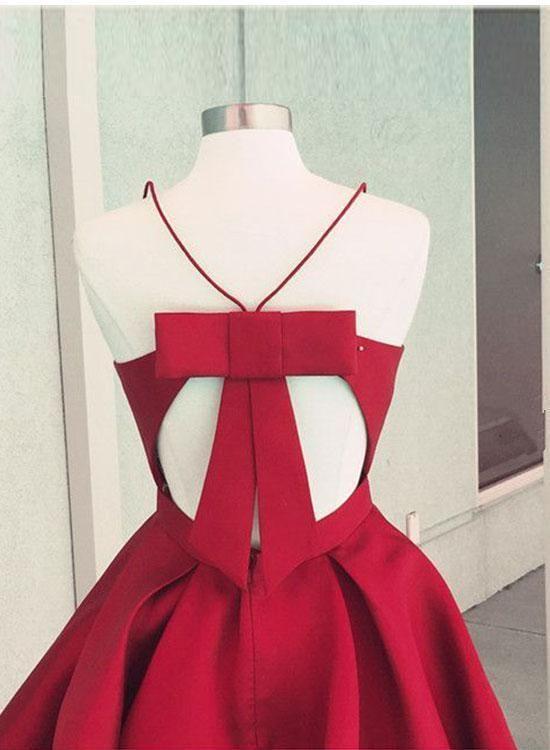 2cc12b54b26 2019 的 A Line V Neck Short Blue Burgundy Prom Dress