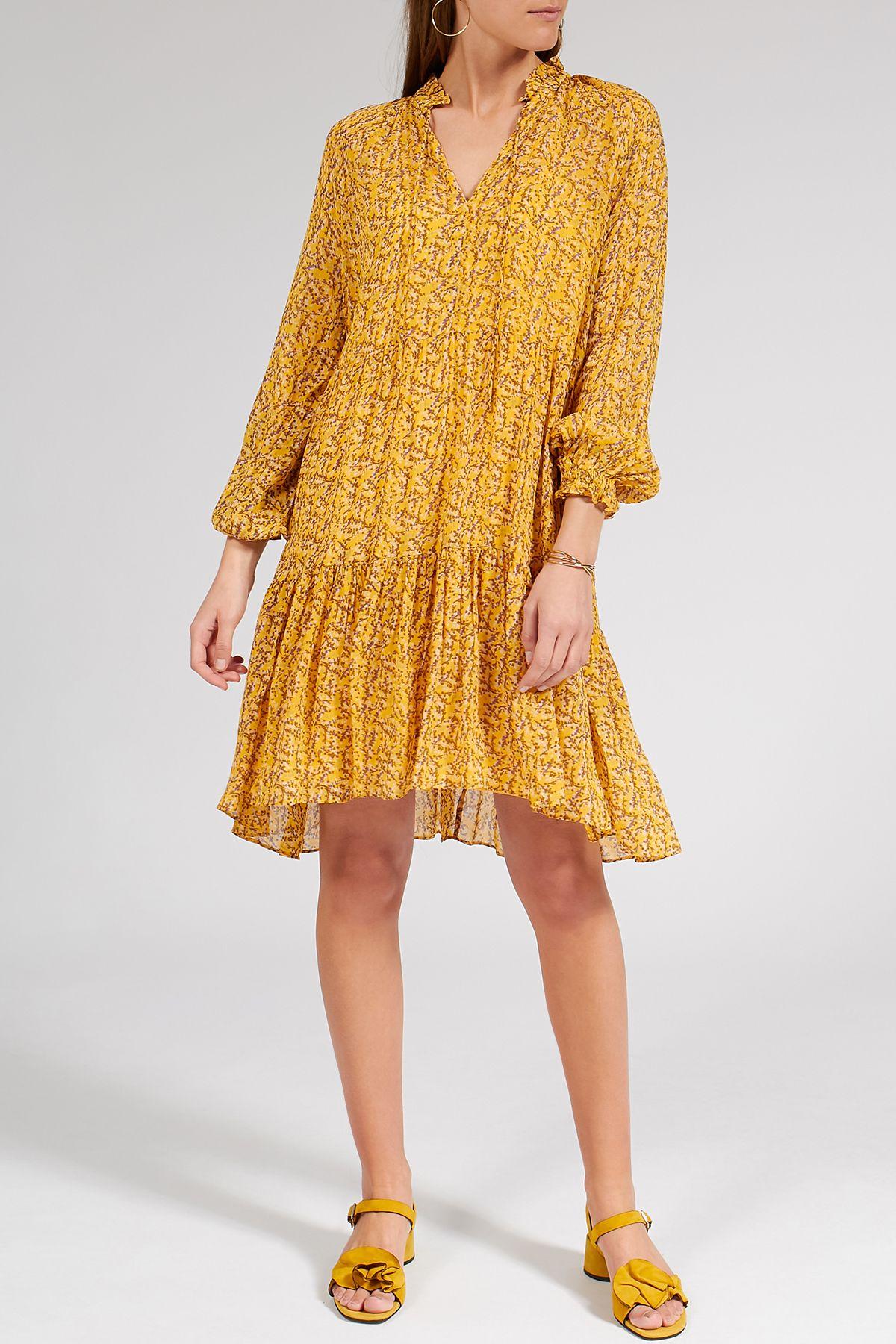 Second Female Viscose Dress Branch LS Medi € 13  Viskose kleid