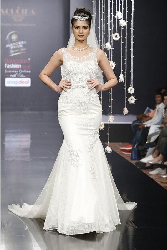 Wedding gown from Soucika, Bangalore   Wedding Gowns in Bangalore ...