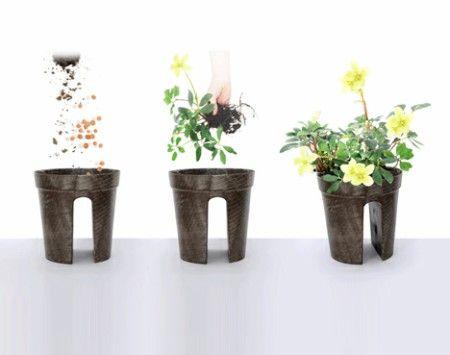 Diseños de macetas para colgar en la terraza | Ingenious ideas ...