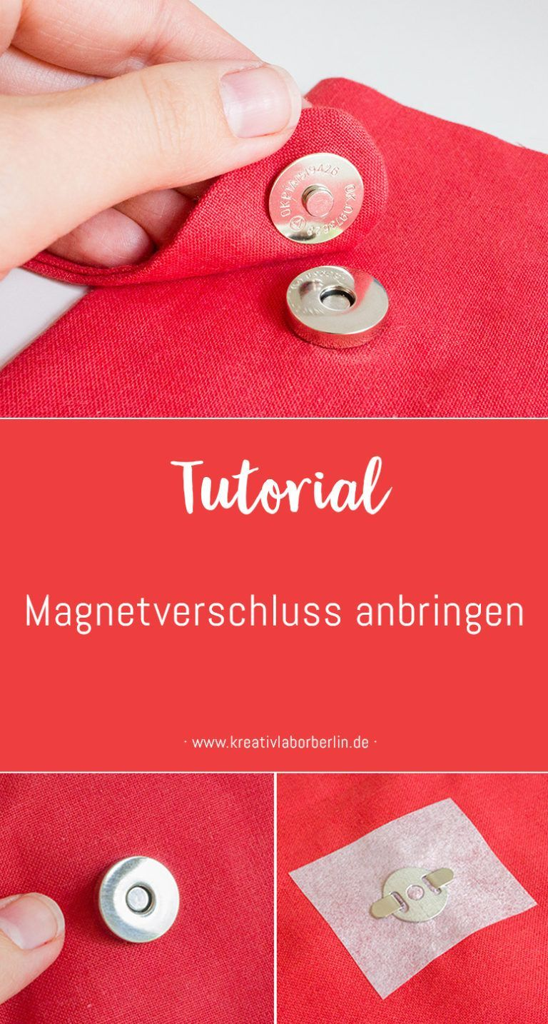 Photo of Mini-DIY: Magnetverschluss anbringen – Kreativlabor Berlin