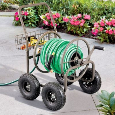 Garden Hose Reel Cart Gardens Hose reel and Garden hose