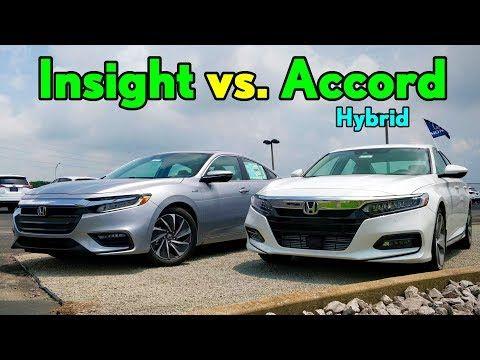 Best 30k Honda Hybrid 2019 Insight Vs Accord Comparison You