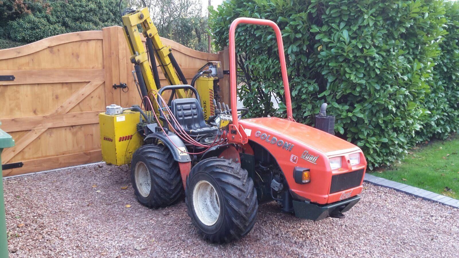 Goldoni quad forestry alpine vine yard 4x4 compact tractor - Quad cities craigslist farm and garden ...