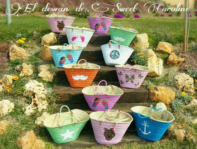 Mañana salen hacia A Coruña estas cestas,para la apertura de una nueva tienda.