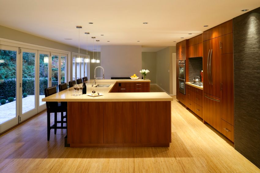 52 Enticing Kitchens with Light and Honey Wood Floors (PICTURES ...
