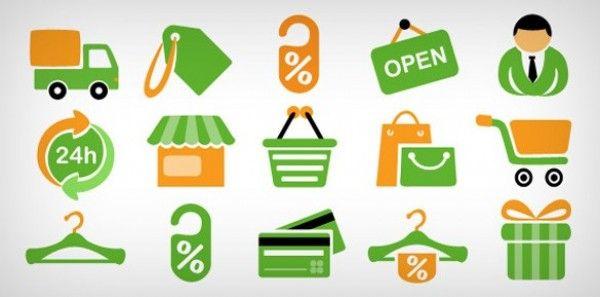 15 E Commerce Shopping Icons Psd Freebie Psdfinder Com Free Icon Set Free Web Icons Shop Icon
