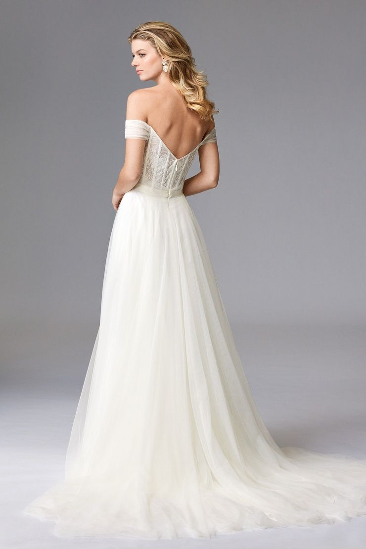 Wtoo Heaton. The essence of the ethereal bride. Found at New York ...