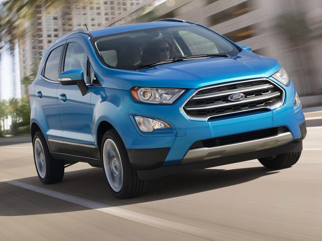 The Ford Ecosport Will Be Imported From India It Is Making Its Debut At The Los Angeles Auto Show Photo Ford Http Ford Ecosport Ford Small Suv Small Suv