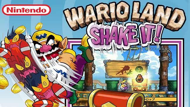 wii wario land shake it
