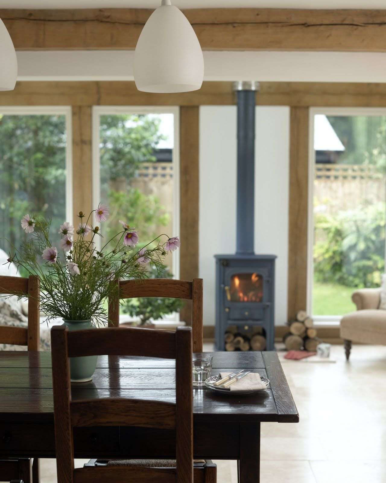 Fitting wood burning, multi fuel, log burners in a conservatory ...