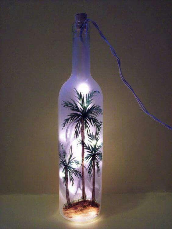 Pin von claire willers auf crafts pinterest diy und for Leere flaschen dekorieren