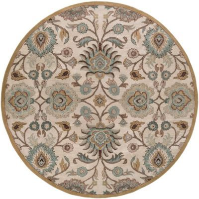 Rugs Othello Round Area Rug Rugs Havertys Furniture