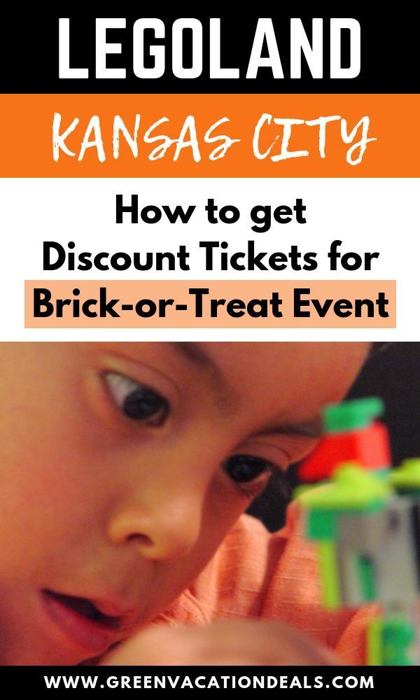 Discount LEGOLAND Kansas City Tickets for Brick-or-Treat ...