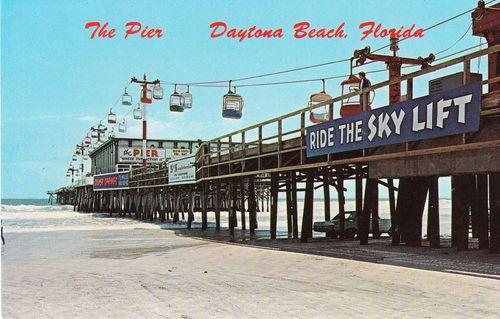 Pier Daytona Beach Florida Sky Lift