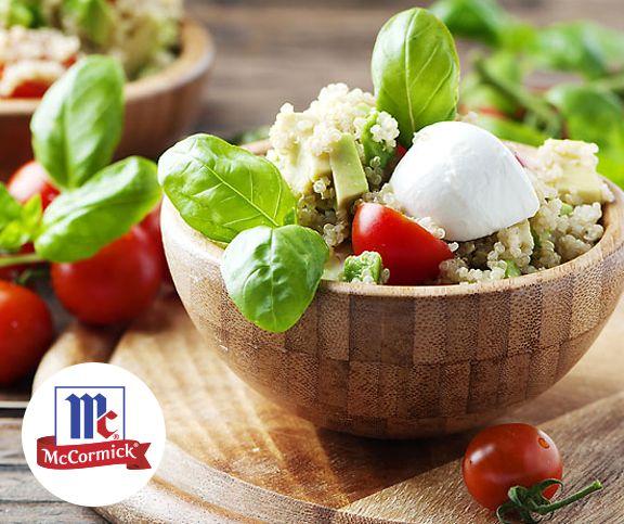 Italienischer Quinoa Salat