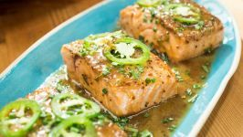 Apple Cider-Glazed Salmon