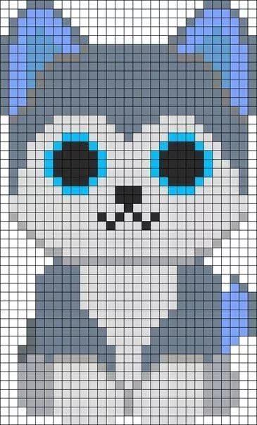 Risunki Po Kletochkam Pikselnye Izobrazheniya Minecraft Koshachij Uzor Vyshivki Disnej