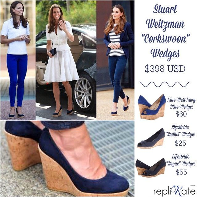22e89d062d1 One of Kate's most iconic #fashion items? Her @stuartweitzman ...