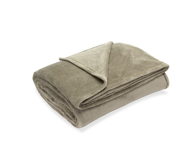 Cobertor Queen Belletti Cáqui R$49,90