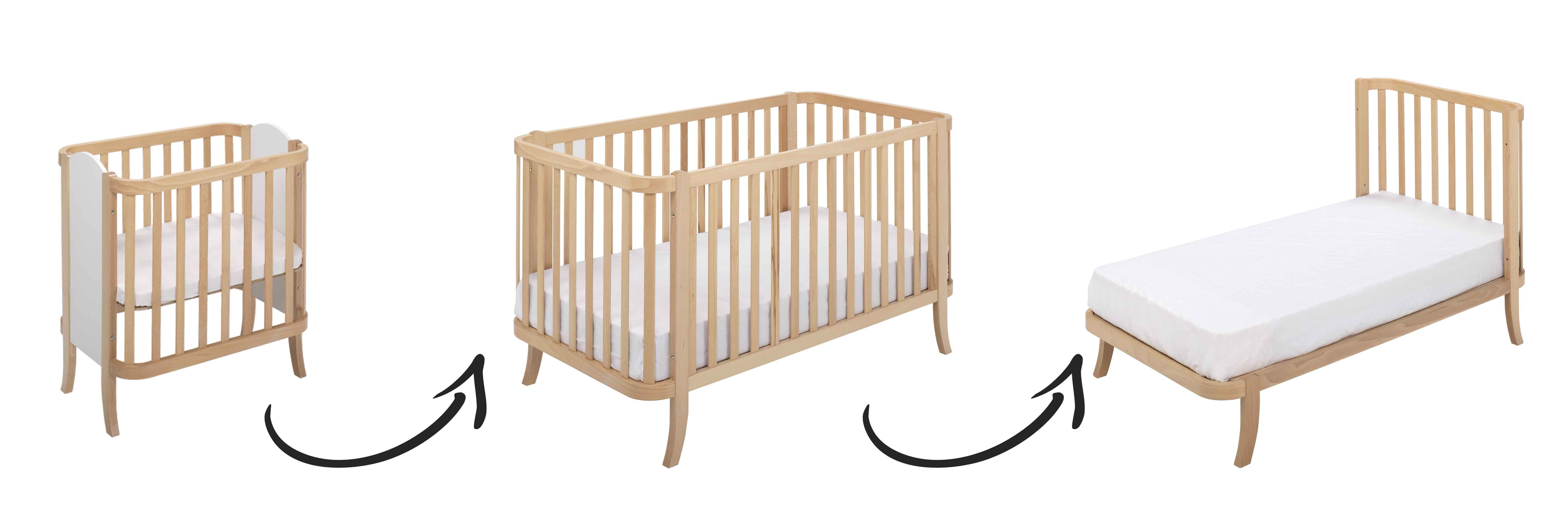 crib nursery furniture cribs letto uk tone baby cool modena designer wooden convertible bedding s mod and of beds size walnut in full modern for u two interesting ideas bed