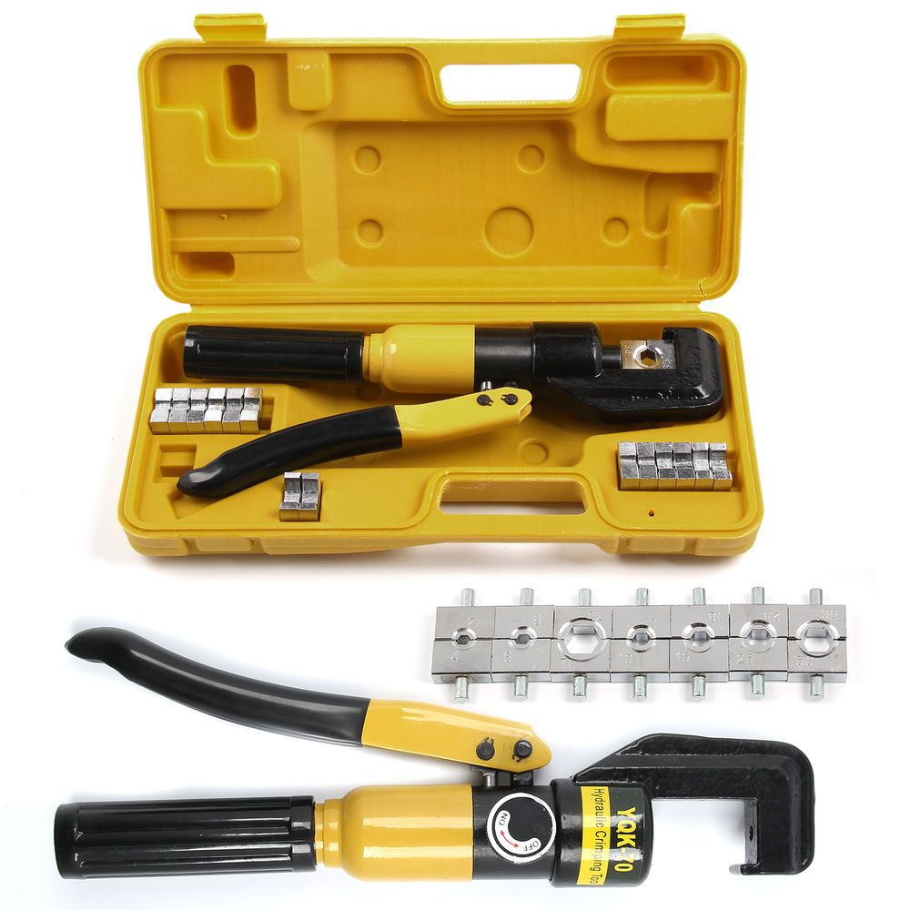 Tube Terminals Lugs Battery Cable Wire Crimping Force Hydraulic ...