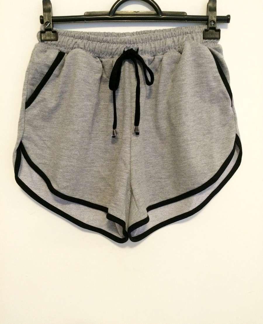 41a48dd6b9 Short moletom cintura alta | Pra vestir | Short moletom, Roupas ...