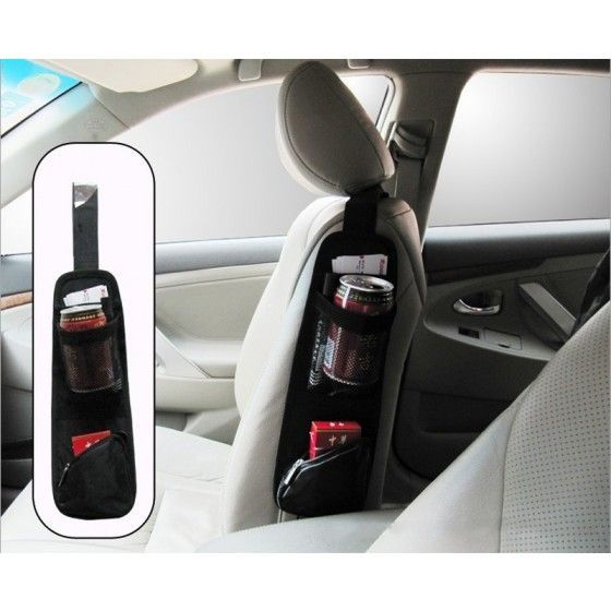 Cool car auto vehicle seat side back storage pocket backseat organizer car stuff