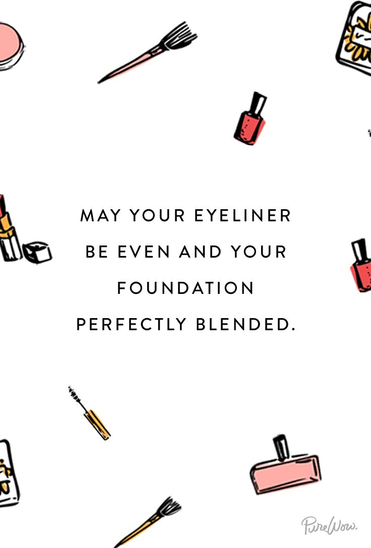 Mascara Quotes Our New Goto Toast Purewow Beauty  Pinterest  Make Up