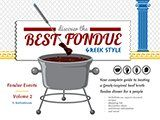 BestFondue volume 2: Greek-Inspired Broth Fondue try the lemon dip #brothfonduerecipes