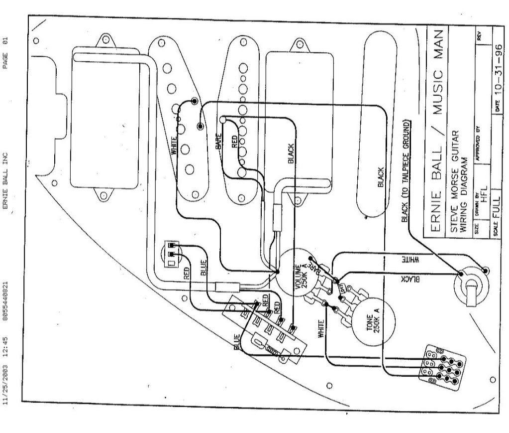 Steve Morse Guitar Wiring Diagram | blueburst Steve Morse Standard, Jan 03, 2005 pix | Guitar