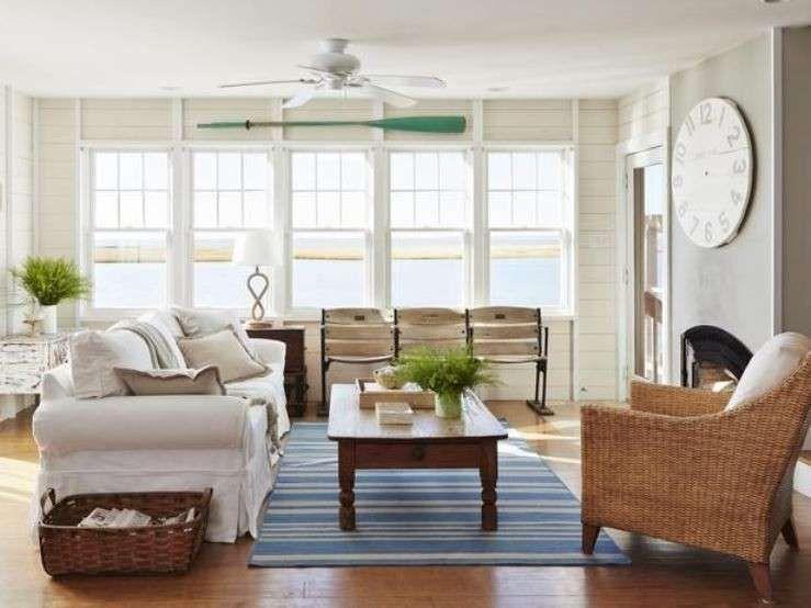 Arredamento casa al mare in stile caraibico - Soggiorno stile ...