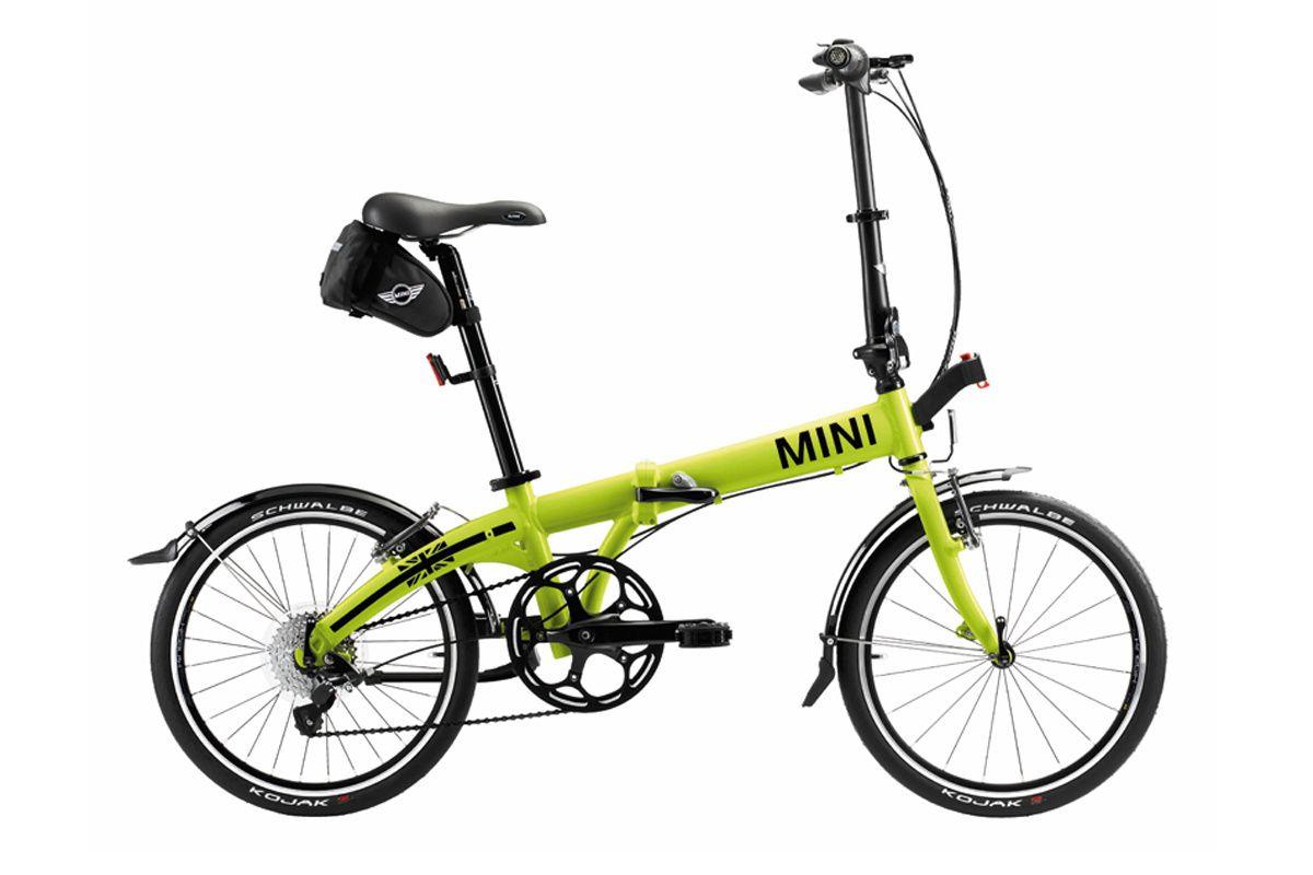 Bmw La Mini Una Bicicleta Plegable Con Un Peso Inferior A Los 11