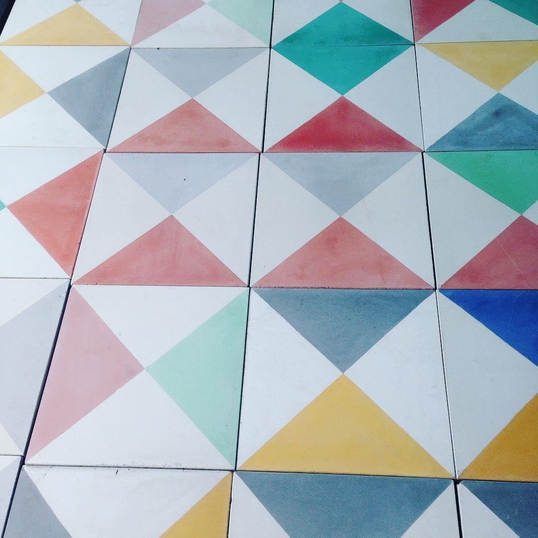 Milagros & Dandy Star #encaustic #hand #made #floor #tiles ...