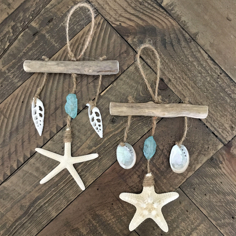 Beach Decor Beach Ornament Coastal Ornament Starfish Ornament