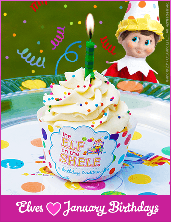 January Birthday Party Ideas for Kids Elf on the Shelf A Birthday