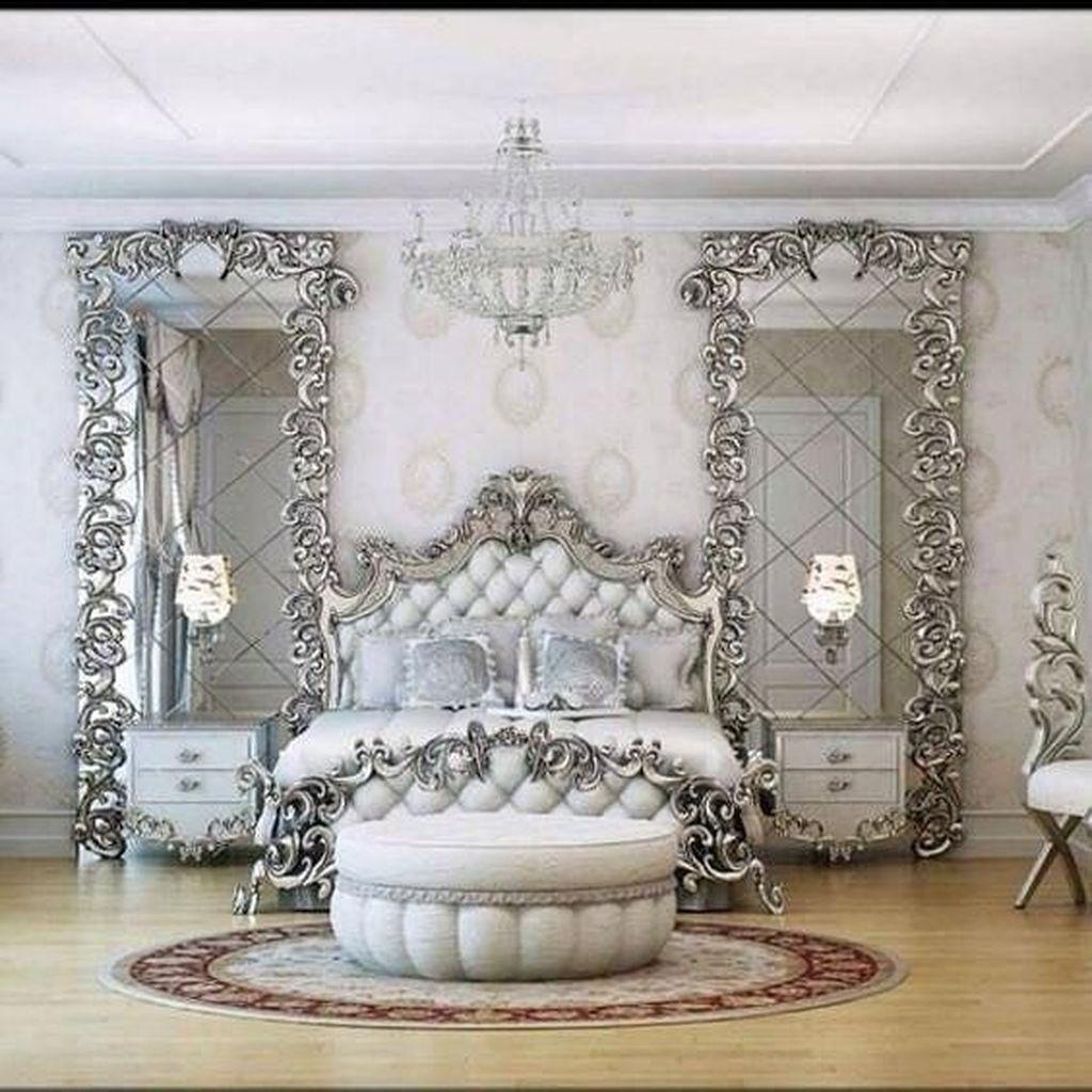 25 Stunning Transitional Bedroom Design Ideas: Nice Luxury Bedroom Design Ideas Looks Elegant 25