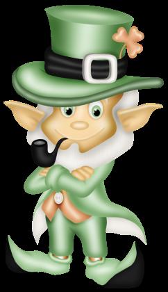 Tri Colour Leprechaun Top Hat