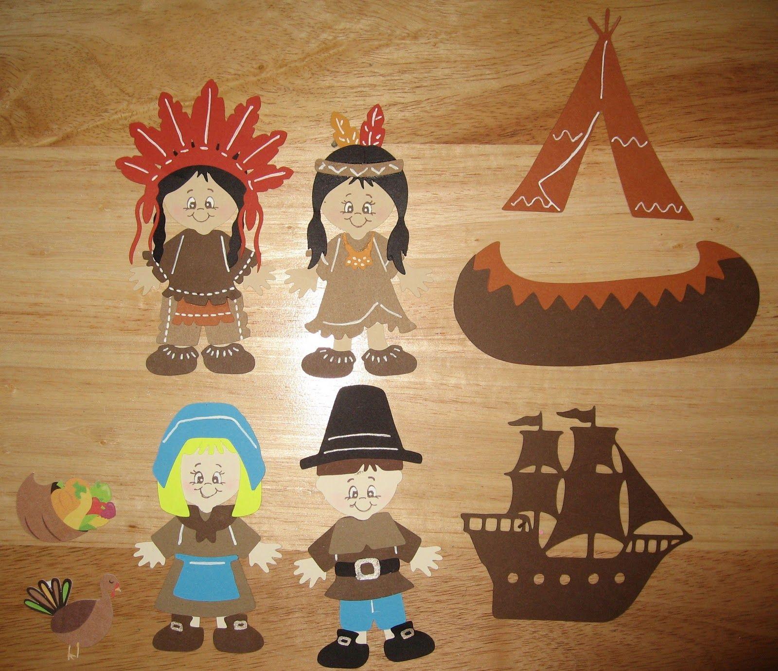 Cricut Paper Dolls Thanksgiving