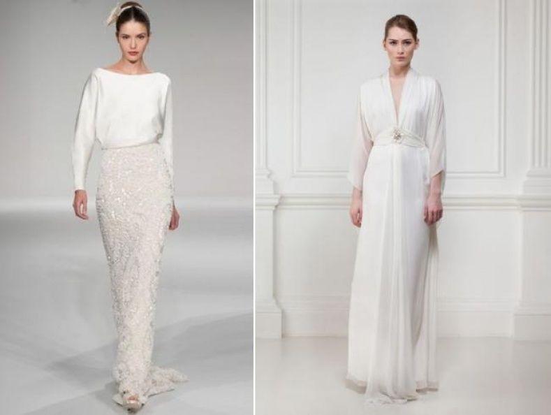 Casual Winter Wedding Dress Ideas | Wedding
