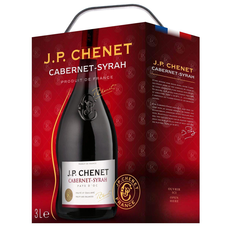 Vin Rouge Languedoc Roussillon I G P Pays D Oc Cabernet Sauvignon Syrah J P Chenet La Fontaine De 3l A Prix Carrefour En 2020 Vin Rouge Cabernet Sauvignon Fontaine A Vin