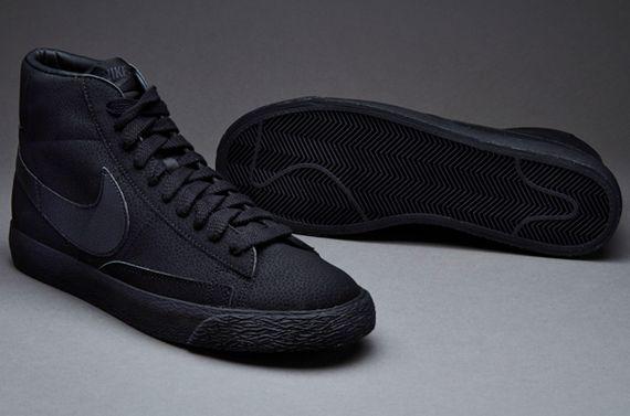 nike sportswear blazer mid vintage - black/black/anthracite